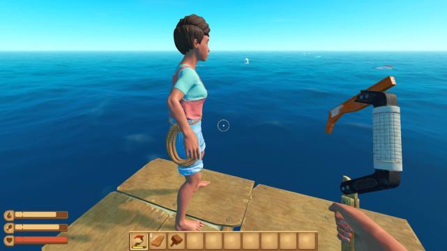Spiele-Review: Raft, ein Ozean-Survival der anderen Art | c't Magazin