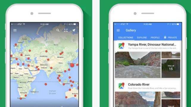 Google: Eigene Street-View-App und Update für Drive