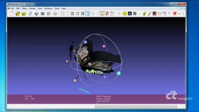 3D-Scan in Farbe mit ReconstructMe 2 0 | c't Magazin