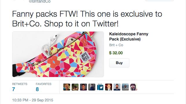 Kaufen-Button Twitter