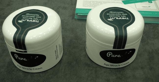 Auch die Verpackungen hochwertiger Kosmetika sieht der Hersteller als Anwendungsgebiet für seine NFC-Tags.