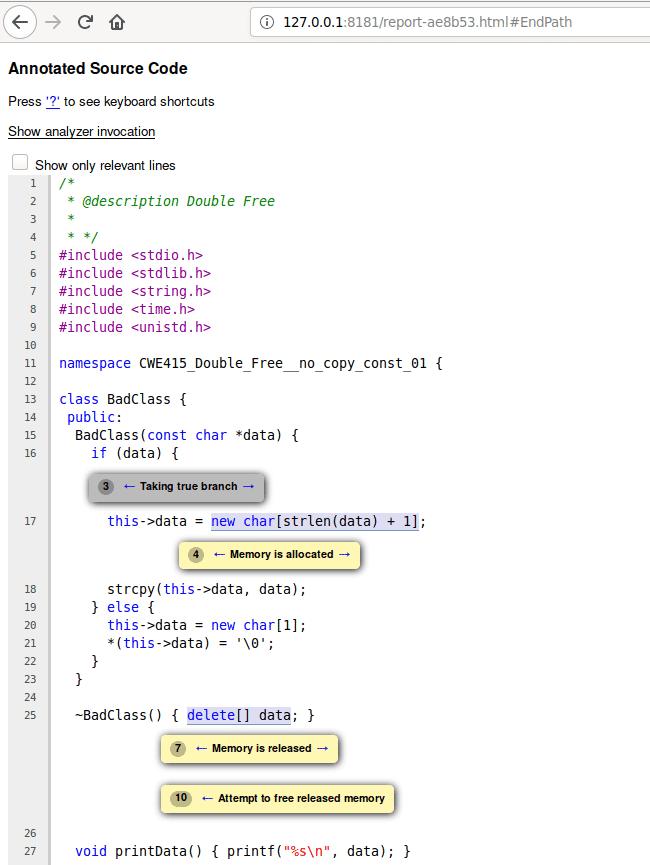 Tester können in einem lokalen Webserver Ergebnisse ansehen (Abb. 4).