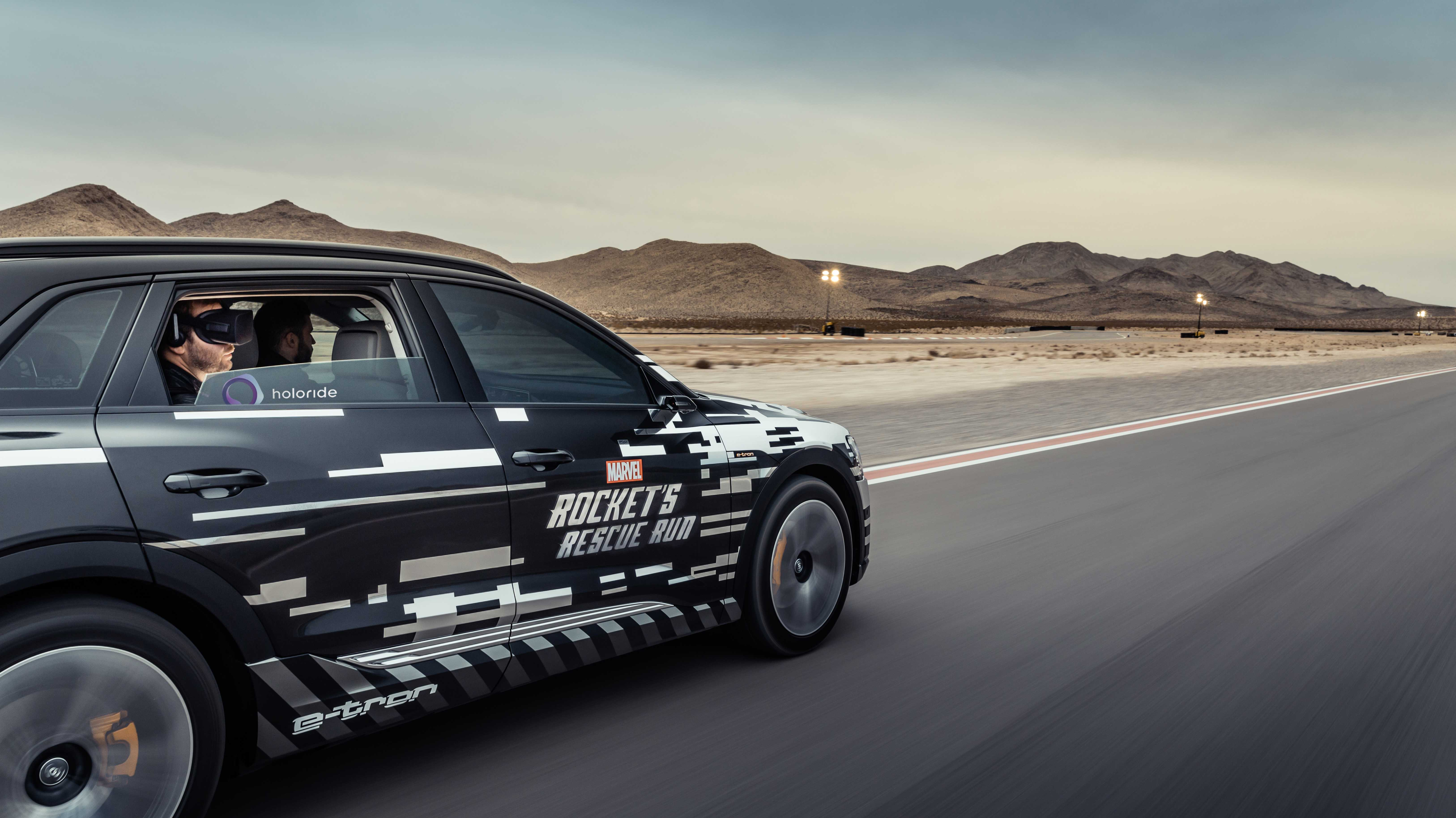 """VR auf der Rückbank ausprobiert: Audi-Startup Holoride erfindet """"Elastic Content"""""""