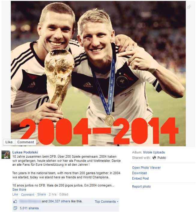 Die deutschen Spieler hatten jedenfalls den größten Grund zu Feiern.