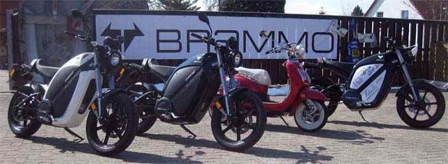 E-Bikes von Brammo, wie man sie für Harz-Touren mieten kann