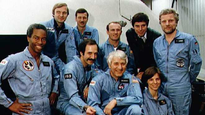 Besatzung der Mission STS 61-A