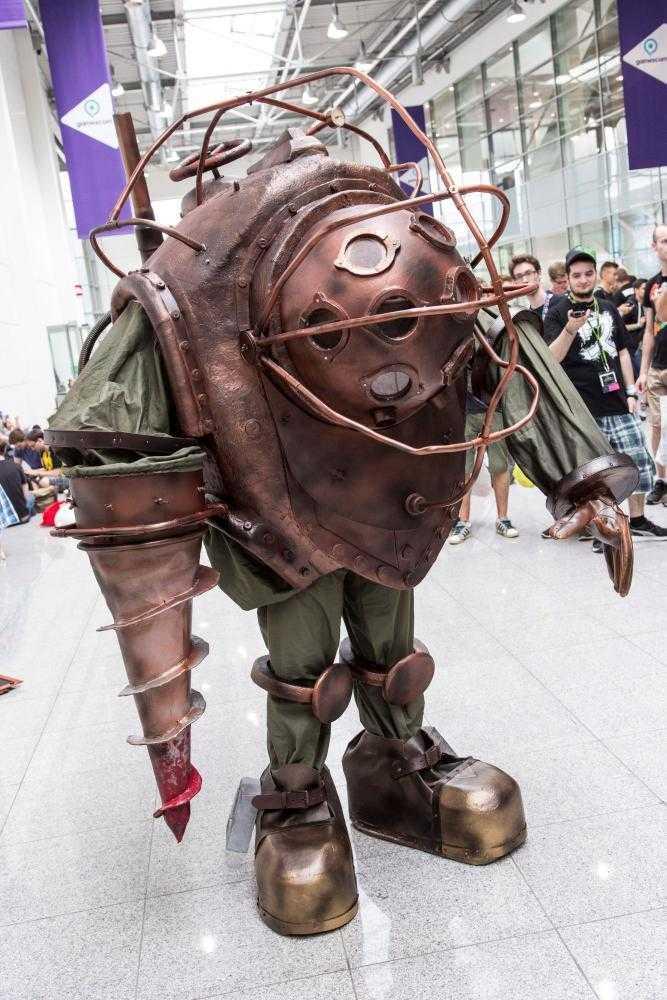 Cosplayer auf der Gamescom 2015