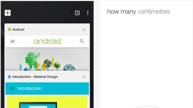 "Google spendiert Chrome für iOS ""Material-Design"" aus Lollipop"