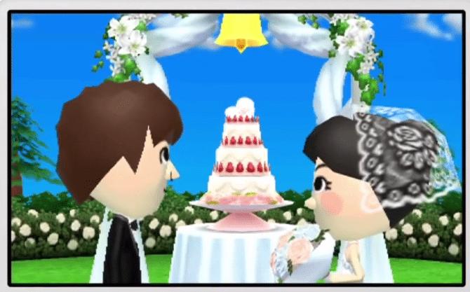"""Bislang dürfen nur männliche und weibliche """"Miis"""" heiraten."""