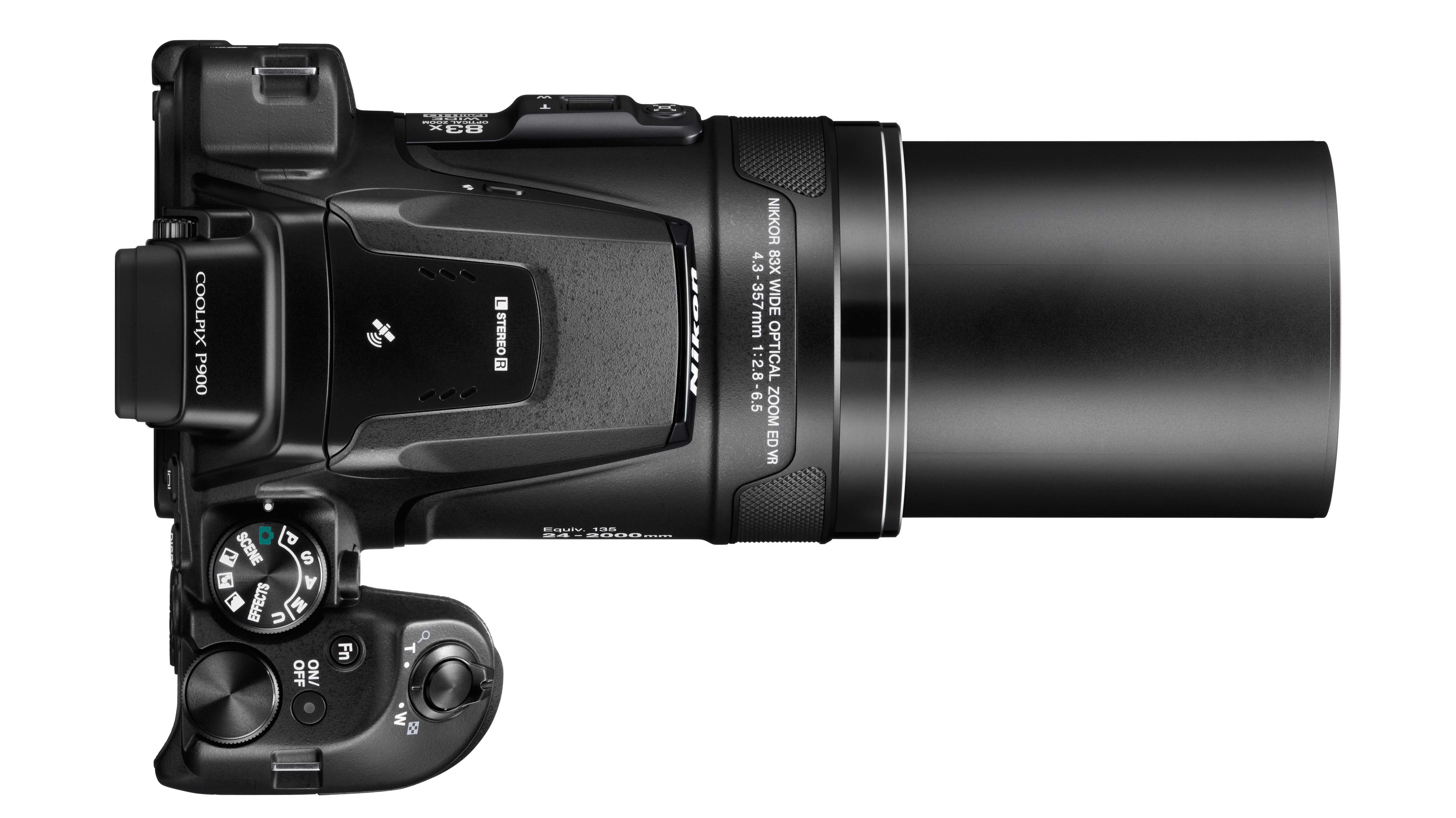Mondfotos mit 2000 millimetern: bridge kamera nikon coolpix p900 mit