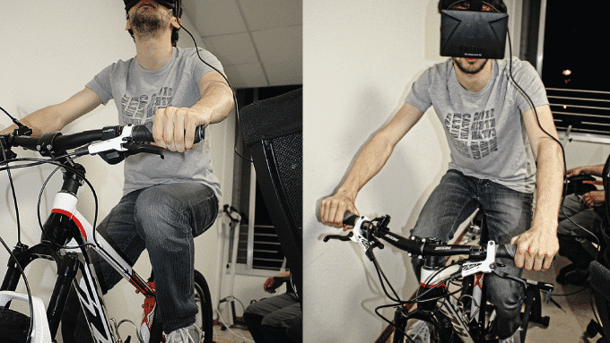 Widerun: Fahrrad-Training mit Virtual Reality