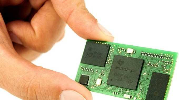 BeagleCore: Mini-Mikrocontroller-Board