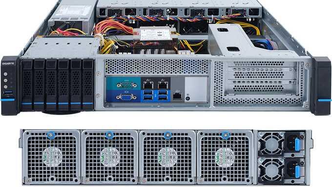 Gigabyte E251-U70: Server-Paket für die Edge
