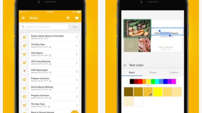Googles Büro-Apps für iOS besser an aktuelle iPhones angepasst