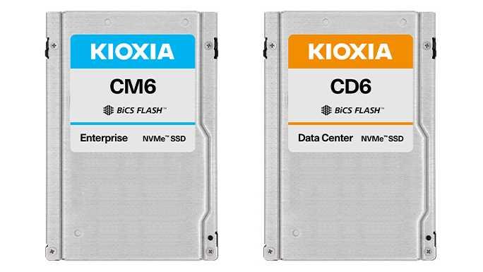 Kioxia bringt PCIe-4.0-SSDs mit bis zu 30,72 TByte Speicherplatz