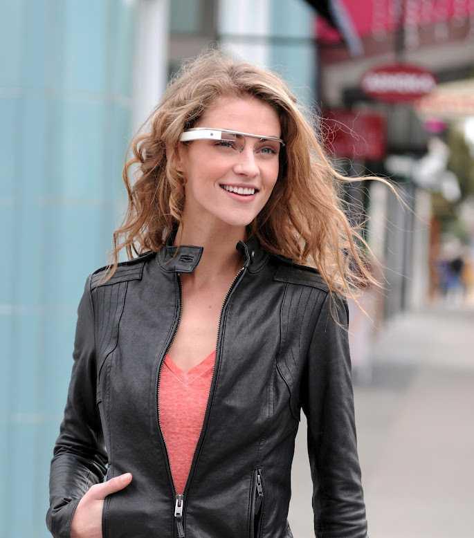 Eine Designstudie zu Google Project Glass