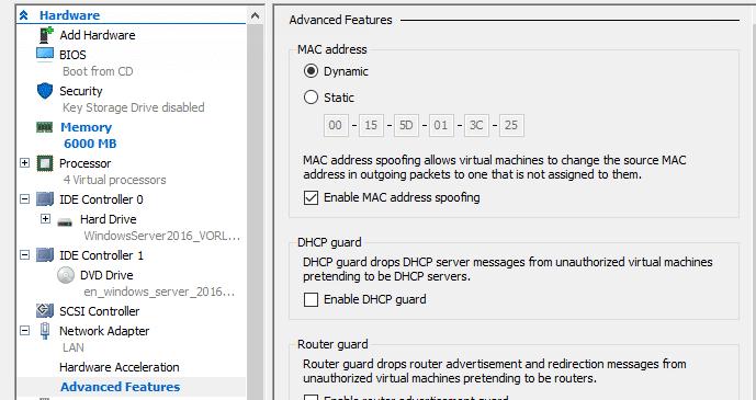Eine VM in einer VM betreiben