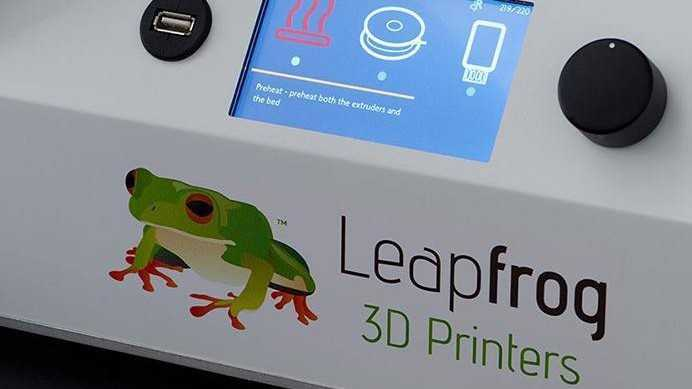 Ausprobiert: 3D-Drucker Leapfrog Creatr HS