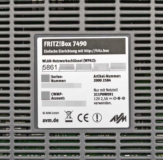 Die Grundeinrichtung einer Fritzbox