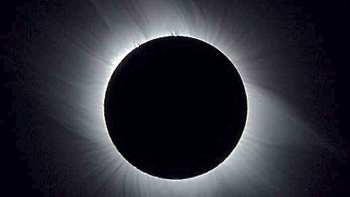 Sonnenfinsternis ohne Brille beobachten – so geht's
