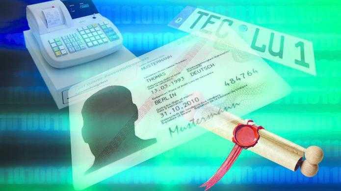 Passbilder per De-Mail