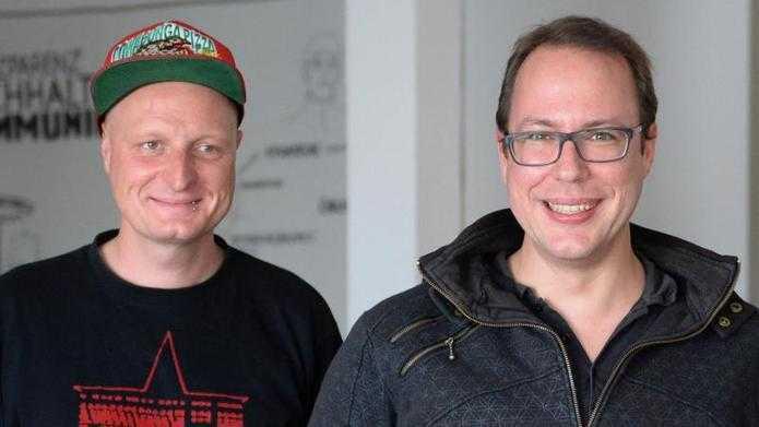 Andre Meister und Markus Beckedahl