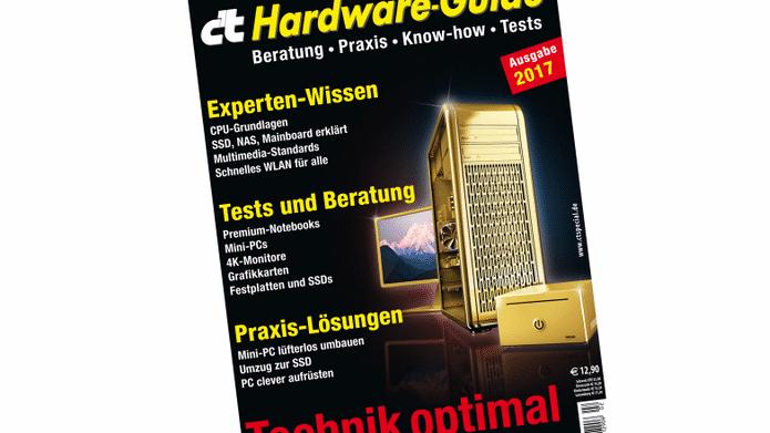 c't Hardware-Guide jetzt im Handel