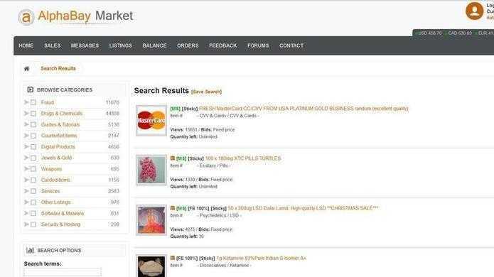 Darknet-Marktplatz AlphaBay nach Razzia geschlossen
