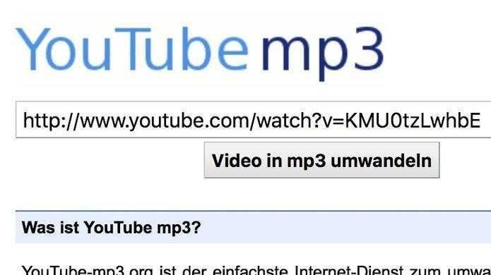 Youtube-mp3 vs. Musikindustrie: Streamripper wird offenbar eingestellt