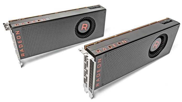 AMD-Referenzkarten: Radeon RX Vega 56 und Radeon RX Vega 64