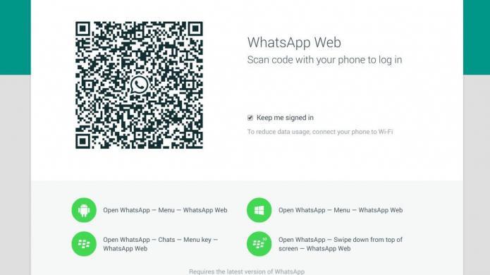 WhatsApp Web - Initialisierung