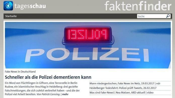 Anti-Fake-News-Einheit der ARD gestartet