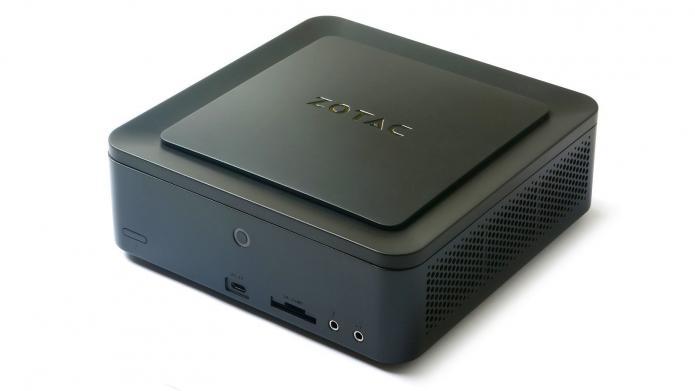 Mini-PC Zotac ZBox MA551 mit AMD Ryzen