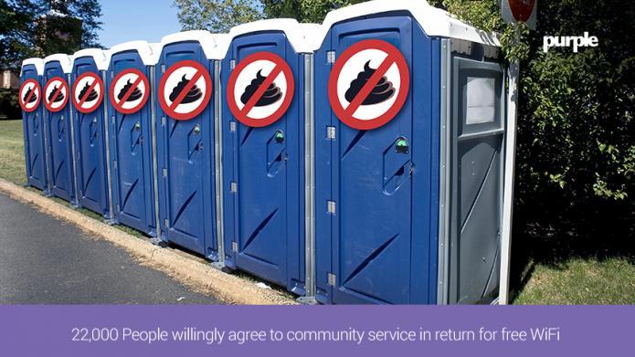 WLAN-Nutzer verpflichten sich zum Toilettenputzen
