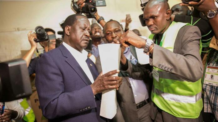 Oberstes Gericht in Kenia erklärt Präsidentenwahl für ungültig