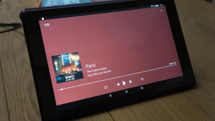 Amazon Fire HD 10-Tablet mit Alexa Hands-free vorgestellt