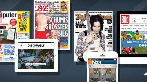 Axel Springer: Dank Internet-Geschäft weiter kräftig zugelegt