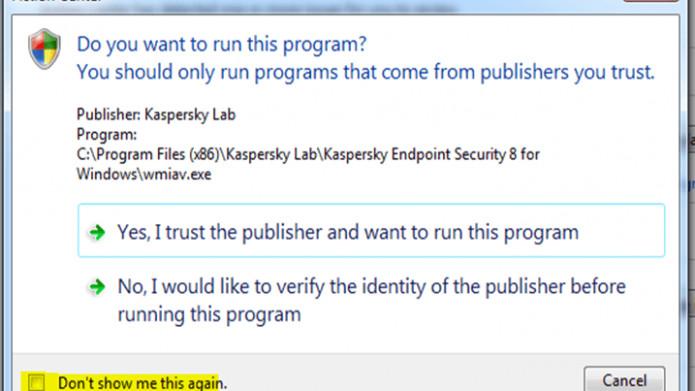 Kaspersky beschwert sich über Windows Defender