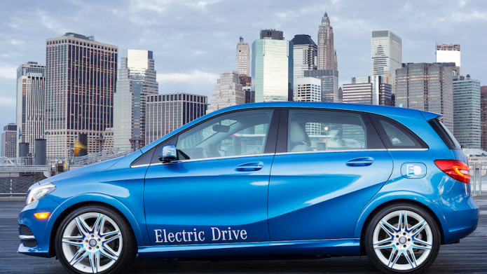 Mercedes-Benz B Klasse Electric Drive