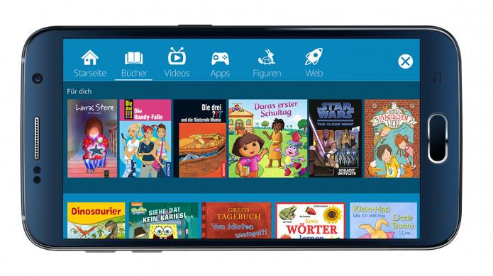 Amazon FreeTime gibt es jetzt auch für Android Smartphones und Tablets