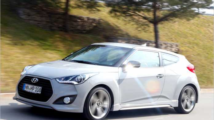 Den Hyundai Veloster gibt es nun auch mit Turbo-Aufladung.