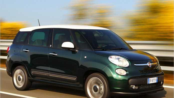 Fiat 500L Living: Die Langversion des 500L kommt Mitte September 2013 auf den Markt.