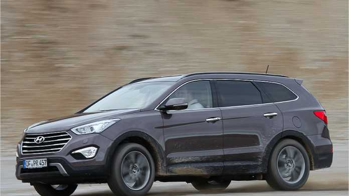Hyundai Grand Santa Fe ist der Nachfolger des iX55.