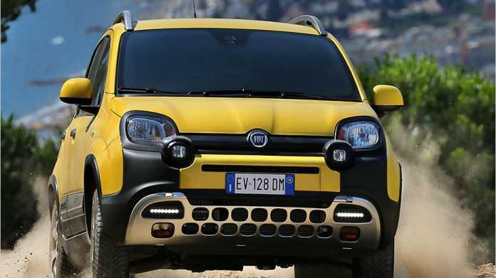 Der Fiat Panda Cross 2014 sticht ins Auge, kann aber was.
