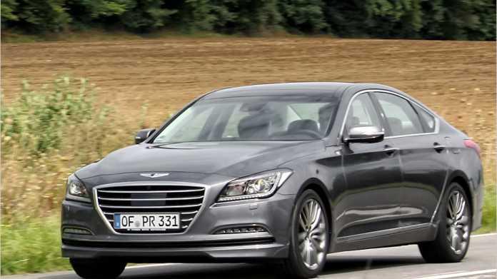 Die neue obere Mittelklasse von Hyundai: Genesis Sportlimousine