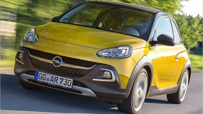 Was kann der Opel Adam Rocks als Mini-Crossover besser?