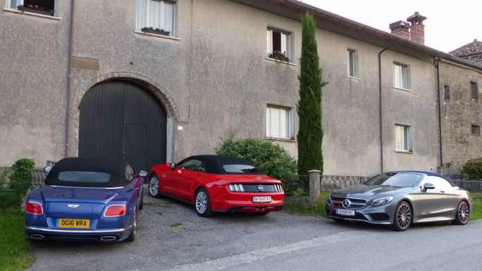 Mercedes, Bentley, Ford