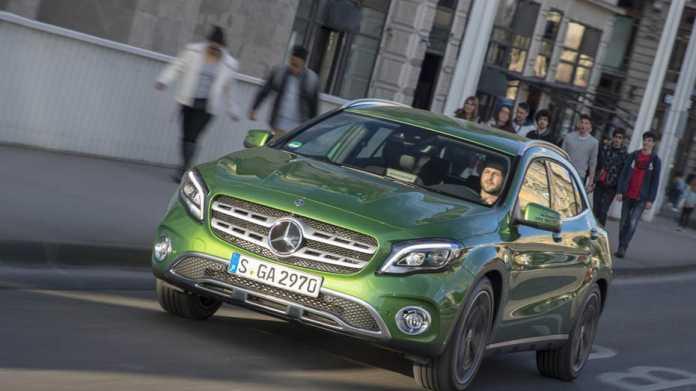 Fahrbericht: Mercedes GLA Facelift