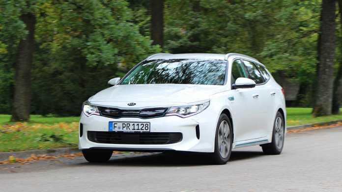 Kia Optima Sportswagon Plug-in-Hybrid