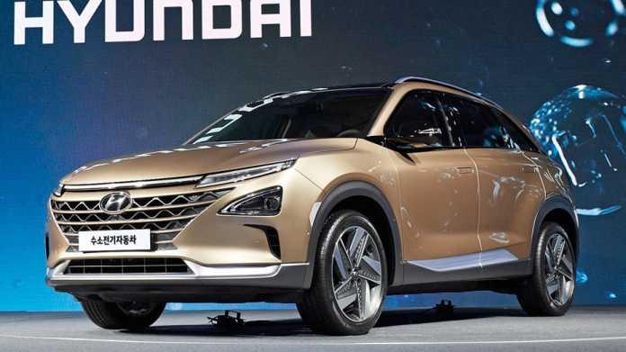 Brennstoffzellen-SUV Hyundai